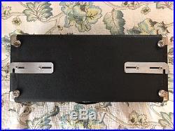 Fender Silverface Bassman Vintage 1967 Tube Amplifier Head AB165 SHIPS SAME DAY