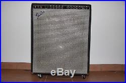 Fender Studio Bass Amp 1x15 Combo Guitar Tube 200w 77-80 Bassman Vintage
