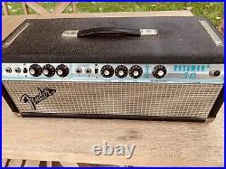 Fender Tube Bassman 50 1970s Silverface Ex Condition Vintage Tube Amp