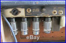 Fender Twin Reverb Guitar Amp Head Silverface Era VTG Vintage Tube