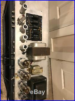 Fender Vintage 1966 Twin Reverb Guitar Tube Amp Amp Alessandro Serviced AB763