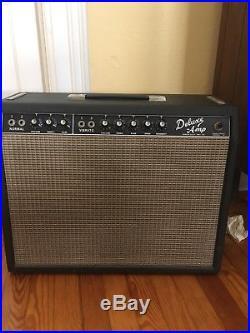 Fender deluxe amp blackface vintage tube tone 60s