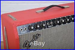 Fender vintage 1970 Deluxe Reverb tube guitar amp combo excellent-used amplifier