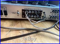 Fisher 400 Vintage Tube Amp Receiver Working