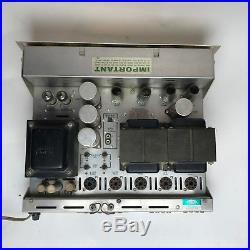 HH Scott LK-72 Tube Amplifier Stereo SCOTTKIT 299 296 7591 Vintage