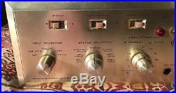 H. H SCOTT 299C vintage intergrated amp. Tube 7591 ecc83 beautiful condition