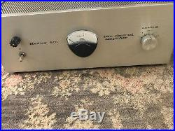Hadley 601 Vintage Tube Amplifier Excellent Condition Marantz 9 Killer