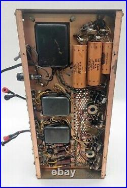 Harmon Kardon HK250 Stereo Tube Amplifier Copper Chassis Vintage Rare