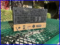 Heathkit Vintage W-5M Vacuum Tube Amplifier Amp for repair or parts