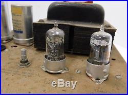 Heathkit W-5M Vintage KT88 Tube Amp with Mullard ECC82 Peerless 16458 Transformer