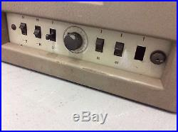 Heavy Vintage Old Cinema Tube Amplifier 1273 / 01 PHILIPS Röhrenverstärker