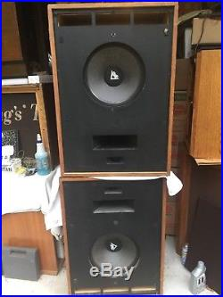 Klipsch Cornwall Large Vintage Speakers for tube amp NO GRILLS