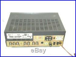 Knight Allied Model 935 Vintage Tube Stereo Amplifier Amp Matsushita Tubes