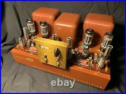 Lafayette KT-550 Vintage Tube 50WPC Power Amplifier Fully Restored