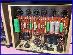 Leak TL12+ mono tube amp amplifier pair (2) serviced w vintage tubes