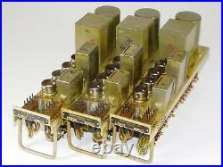 Lot 3 Vintage 1950's E7300 Servo Amplifier Vacuum Tube Amp USN US Navy Military