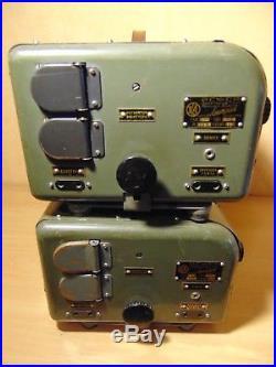 Lot of 2 vintage audio TUBE AMPLIFIER 90 u2 lomo kinap film projector