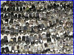 Lot of 900 Plus Vintage vacuum tube lot radio amp ham tv all work or are new