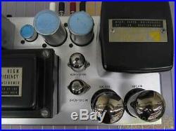 Luxman Luxkit KMQ-60 vintage tube valve amplifier
