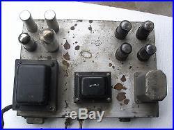 MAGNAVOX TUBE AMP 6V6 VINTAGE MAGNAVOX TUBE AMP MODEL 101b 6V6/5U4/5Y3 TUBES
