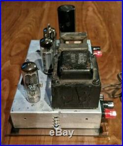 Magnavox 8600 Tube Amp Single Ended Vintage Amplifier Recapped EL84 12AX7