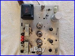 Magnavox 8802 Vintage Stereo Tube Amplifier 6V6
