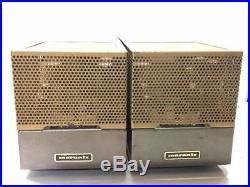 Marantz Model 5 Vintage Tube Amplifier Amp Working Original Rare S/N 1523/1524