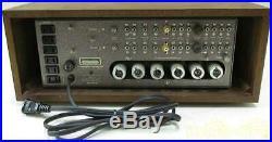 Marantz Model 7K Vintage Tube Amplifier Amp Wood Case Overhauled Serviced Tested