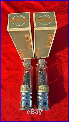 Marconi Vacuum Tube Pair Tubes Nos Nib Mt31 Rs237 211 Rca 845 Vintage Stereo Amp