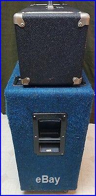 Marshall AMP G12-80 4x12 SPEAKERS & PEAVEY MACE VT SERIES TUBE AMP COMBO Vintage