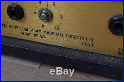 Marshall JCM800 2205 vintage tube guitar amp head awesome! -used amplifier