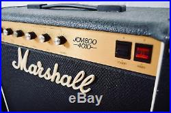 Marshall JCM800 4010 vintage tube guitar amp combo excellent-50 watt amplifier