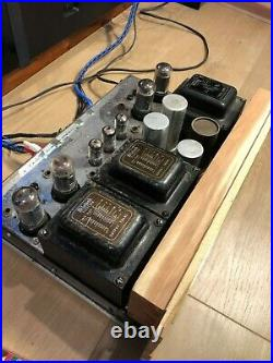 McIntosh MA-230 (1963-1966) AWESOME Vintage Vacuum Tube Amplifier Read AS IS