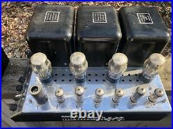 McIntosh MC240 Tube Amplifier Power Amp Vintage Stereo HiFi Audio 1960 1961