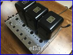 McIntosh MC240 Vacuum Tube Amplifier Vintage Classic