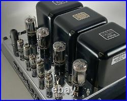 McIntosh MC240 Vintage Tube Amplifier 220V Euro Transformer- Fully Restored