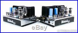 McIntosh MC60 Vintage Mono Tube Amplifier MC-60 Pair