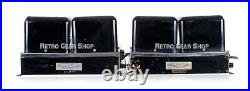 McIntosh MC-60 Stereo Pair Vacuum Tube Power Amplifier Rare Vintage Amp MC60