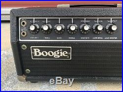 Mesa Boogie Mark II pre-owned vintage 1980 tube amp head MK2 withfootswitch