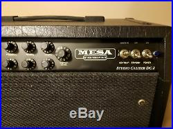 Mesa Boogie Studio Dual Caliber DC-2 1x12 Guitar Combo Tube Amp VINTAGE