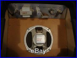 Montgomery Ward Airline Tube Amp # 62-9012A Dual Input Danelectro VTG 1964