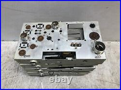 NOS Vintage Lot of 5 Blank Tube Amp Chassis's COOL DIY GUITAR AMPLIFIER BUILDER
