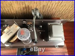 Newcomb Tube Amplifier Single Ended 6BQ5 / EL84 Vintage Amp