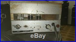 Newcomb e-10a vintage tube amplifier amp