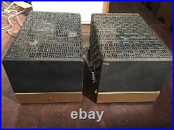 Nice Pair of rebuilt vintage HiFi Heathkit W5M Monoblock tube amps-vintage tubes