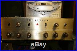 Nice Vintage Fisher KX 200 Tube Amp- Serviced