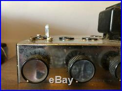 Nice Vintage Knight 6V6 Mono Tube Amplifier 1956 For Guitar or Harp Amp Rebuild