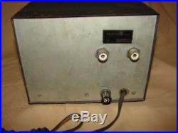 Nice Vintage Working Kris Boomer Linear Tube Amplifier