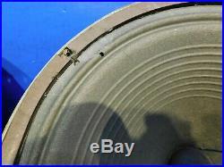 PAIR Vtg 1960s GOODMANS AUDIOM 50 15 Ohm 12 10W ALNICO Speaker Vox Tube Amp