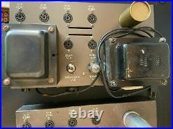PAIR of Vintage Eico HF-30 Tube Amplifiers Rare Monoblocks for Rebuild